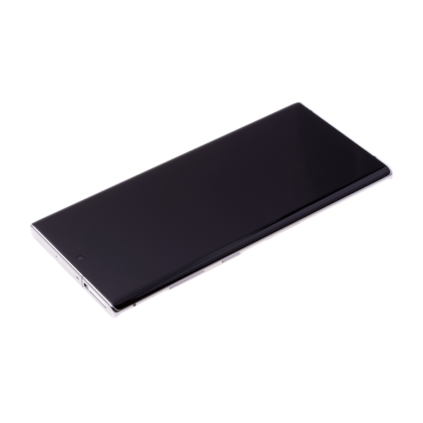 LCD Samsung NOTE 10 PLUS,N975 + touch + okvir original EU bijeli (Aura White)