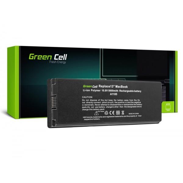 GREEN CELL BATERIJA ZA APPLE MACBOOK 13 A1181 2006-2009 (AP02) / 11,1V 5600MAH