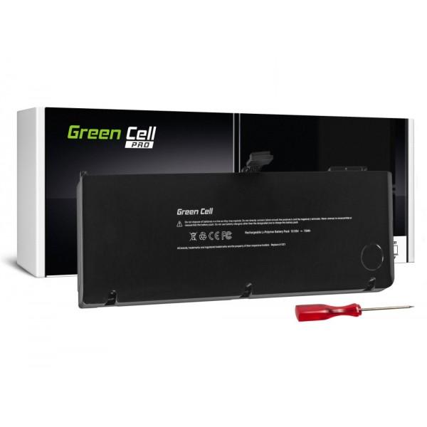GREEN CELL PRO BATERIJA ZA APPLE MACBOOK PRO 15 A1286 2009-2010 / 10,95V 6700MAH