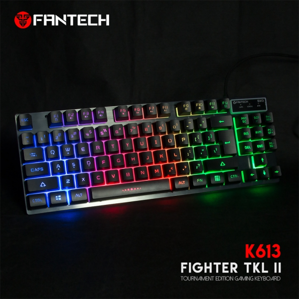 FANTECH TIPKOVNICA GAMING ŽIČNA FIGHTER TKL II K613