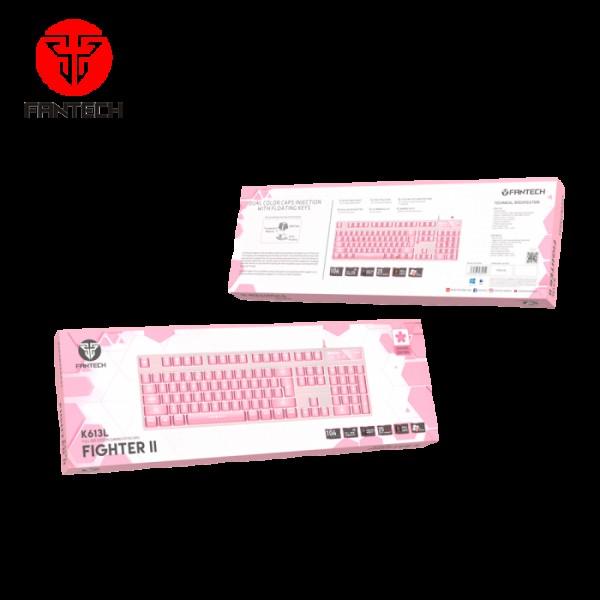 FANTECH TIPKOVNICA GAMING ŽIČNA FIGHTER II K613L SAKURA EDITION ROZA MD-FANTECH-K613L-PINK Mobilab, servis i prodaja mobitela, tableta i računala