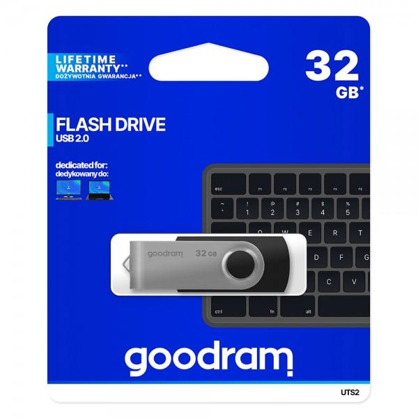 GOODRAM UTS2 FLASH DRIVE - 32GB USB 2.0 GOOD-UTS2-32GB Mobilab, servis i prodaja mobitela, tableta i računala