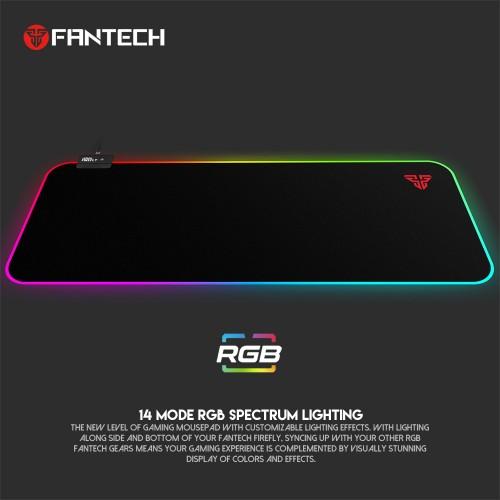 FANTECH PODLOŽAK ZA MIŠ 800x350x4 mm FIREFLY RGB MPR800S SPACE EDITION CRNI