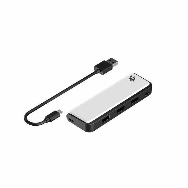 USB HUB ZA PS5 FLASHFIRE 3* USB + TIP C AHUB155