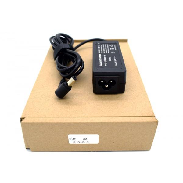 Kućni punjač za prijenosno računalo LENOVO (5.5*2.5 / 20V/2A?EPC?/40W )