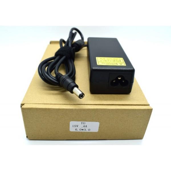 Kućni punjač za prijenosno računalo TOSHIBU (6.0*3.0 / 15V/4A/60W )