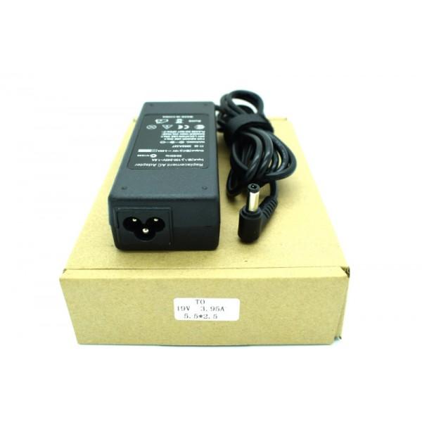 Kućni punjač za prijenosno računalo 5.5*2.5 (ZA TOSHIBU 19V/3.95A/75W )