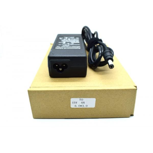 Kućni punjač za prijenosno računalo 6.0*3.0 (ZA TOSHIBU 15V/6A/90W )