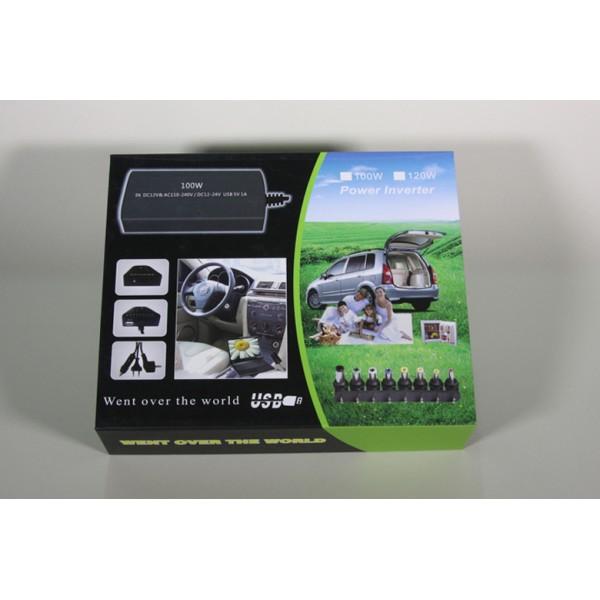 Univerzalni kućni i auto punjač za prijenosno računalo (MAX 100W)