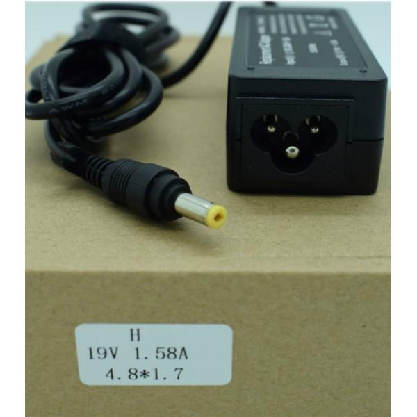 Kućni punjač za prijenosno računalo 4.8*1.7 (ZA HP 19V/1.58A/30W )