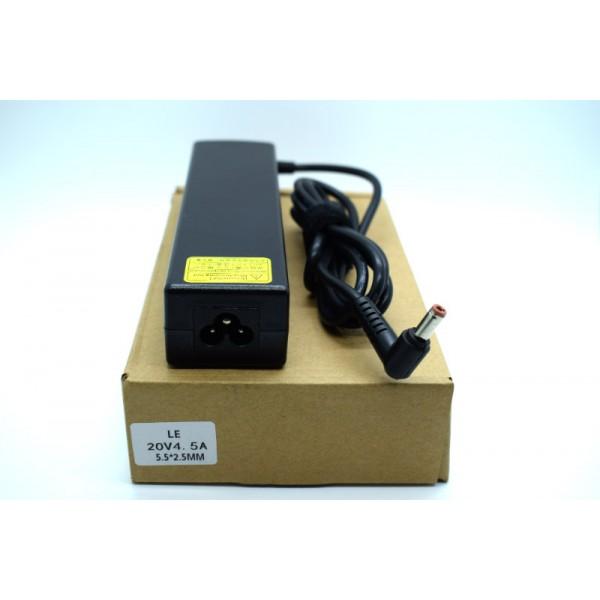Kućni punjač za prijenosno računalo 5.5*2.5 (ZA LENOVO 20V/4.5A/90W )