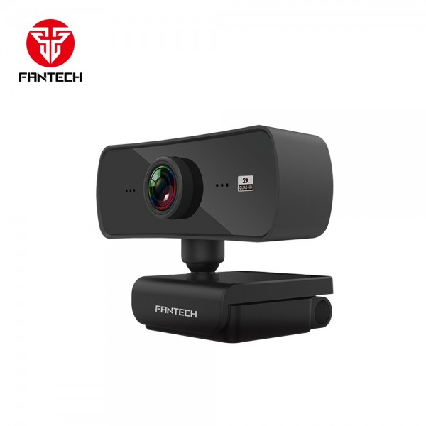 FANTECH WEB KAMERA QUAD HD 1440P 2K USB 2.0 LUMINUS C30 CRNA