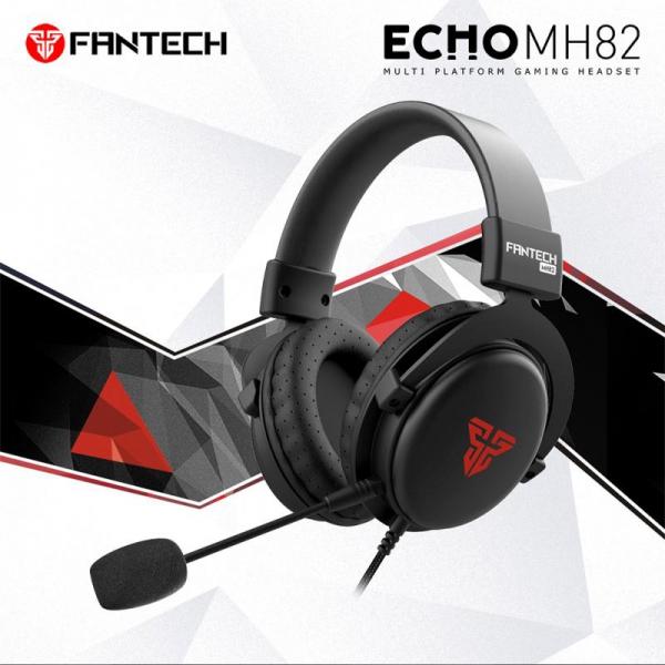 FANTECH SLUŠALICE ŽIČNE GAMING 3.5 mm + MIKROFON ECHO MH82