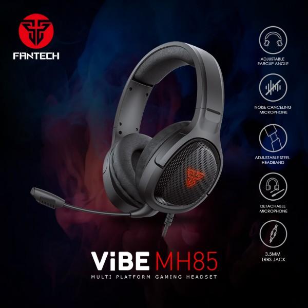 FANTECH SLUŠALICE ŽIČNE GAMING 3.5 mm + USB + MIKROFON VIBE MH85
