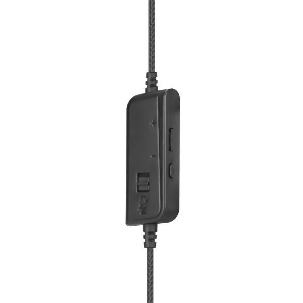 HP SLUŠALICE  VELIKE DHE-8006 USB - CRNE