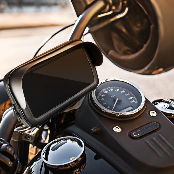Držač mobitela za bicikl/motocikl vodootporan sa vizirom 6,3 PT-BIC-MOTO-VIZIR-6,3 Mobilab, servis i prodaja mobitela, tableta i računala
