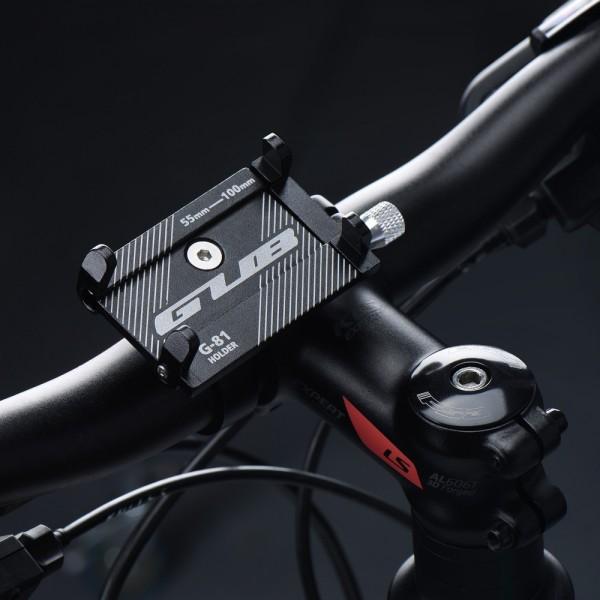 Držač mobitela za bicikl/motocikl GUB G81 CRNI