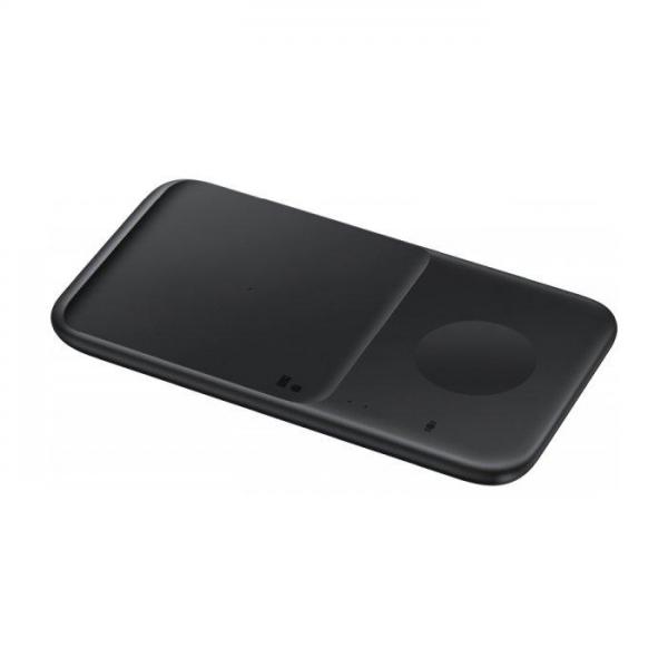 Bežični punjač Samsung Duo 30W za 2 mobitela ili sat EP-P4300TBEGEU - CRNI