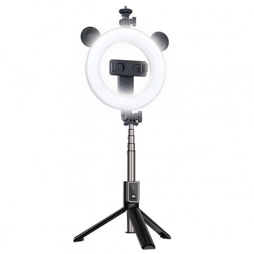 Selfie Držač za mobitel stativ + led lampa + daljinski upravljač - P40D-4
