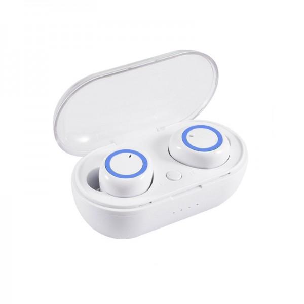 TWS C12 bluetooth stereo slušalice - plave