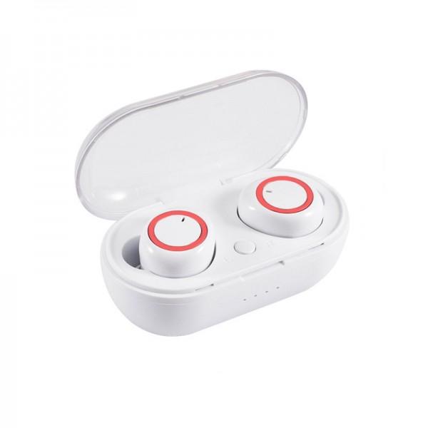 TWS C12 bluetooth stereo slušalice - bijele