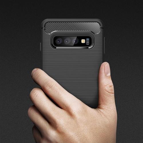 Maskica CARBON Huawei P Smart Pro