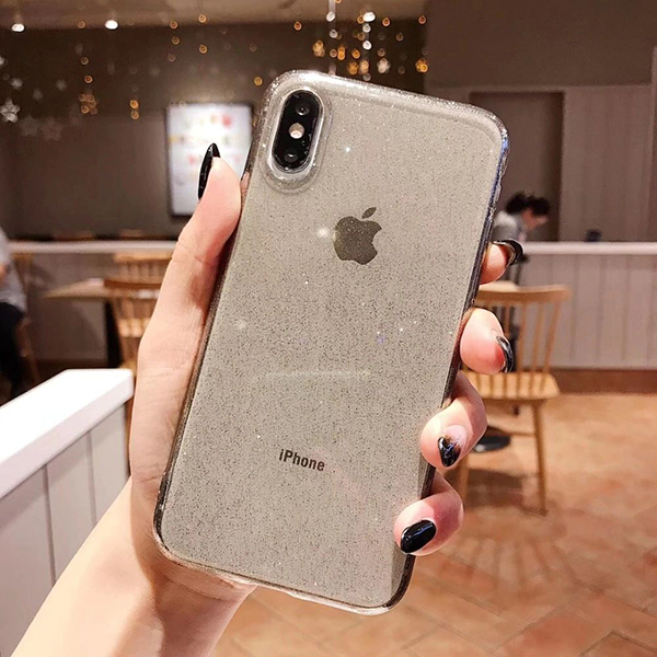 Maskica Crystal Glitter iPhone XR