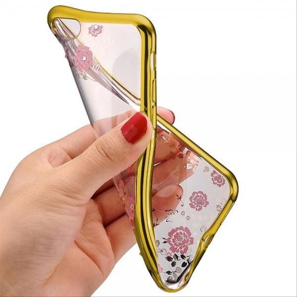 Torbica TPU Huawei P30 lite DIAMOND FLOWER