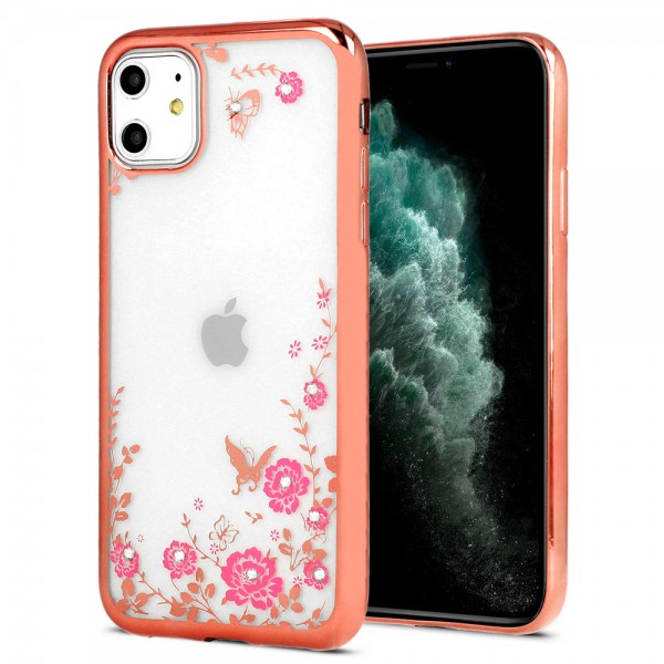Torbica TPU Huawei Mate 30 Pro DIAMOND FLOWER