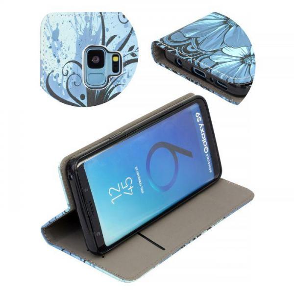 Torbica preklopna za SAMSUNG GALAXY S9 blue - Decor book TP-DB-SAM-G960-bl Mobilab, servis i prodaja mobitela, tableta i računala