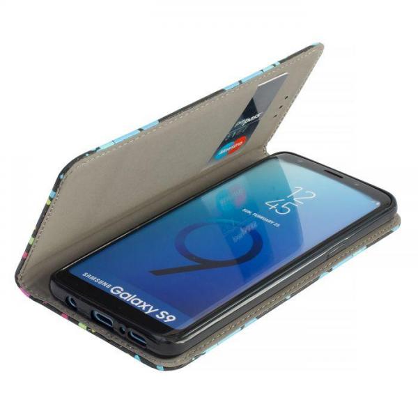 Torbica preklopna za SAMSUNG GALAXY S9 Plus dots - Decor book TP-DB-SAM-G965-do Mobilab, servis i prodaja mobitela, tableta i računala