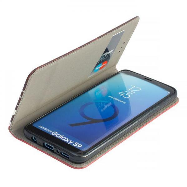 Torbica preklopna za SAMSUNG GALAXY S9 Plus red - Decor book TP-DB-SAM-G965-red Mobilab, servis i prodaja mobitela, tableta i računala