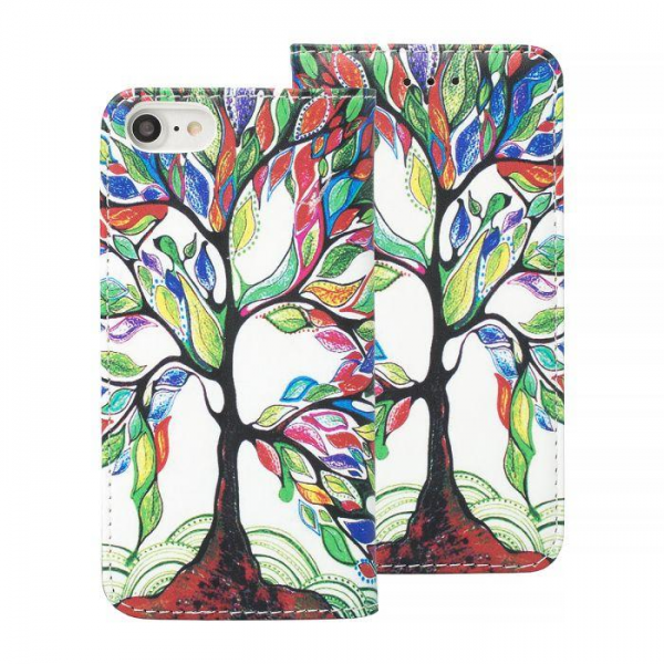 Torbica preklopna SAMSUNG S9 tree - Decor book