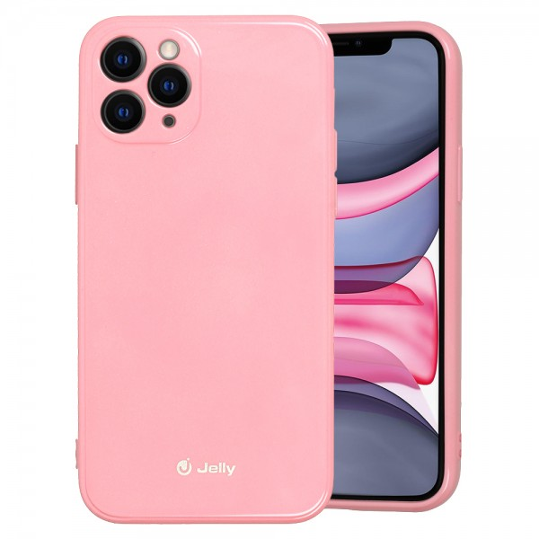 "Maskica Jelly  iPhone 12 mini (5,4"") - svijetlo roza"
