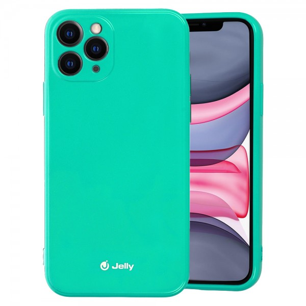 "Maskica Jelly  iPhone 12 mini (5,4"") - zelena"