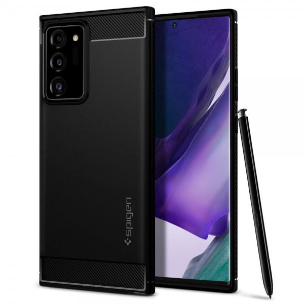 MASKICA SPIGEN Samsung Note 20 Ultra,N985 Rugged Armor ACS01391 - Matte Black