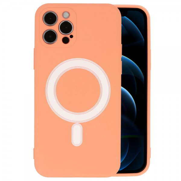 TEL PROTECT MagSafe maskica Iphone 12 PRO - NARANČASTA
