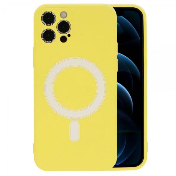 TEL PROTECT MagSafe maskica Iphone 12 PRO - ŽUTA