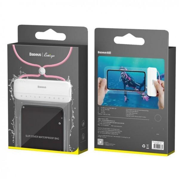 Baseus Let s Go IPX8 vodootporna torbica - 7,2 (ACFSD-D24) roza TT-BASE-TOR-ACFSD-D24 Mobilab, servis i prodaja mobitela, tableta i računala