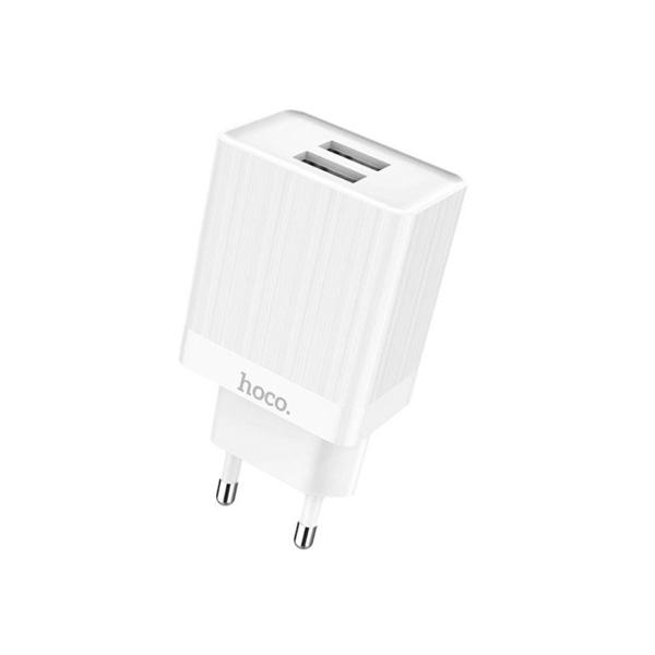 HOCO adapter/punjač - 3.4A 2x USB plug C51A