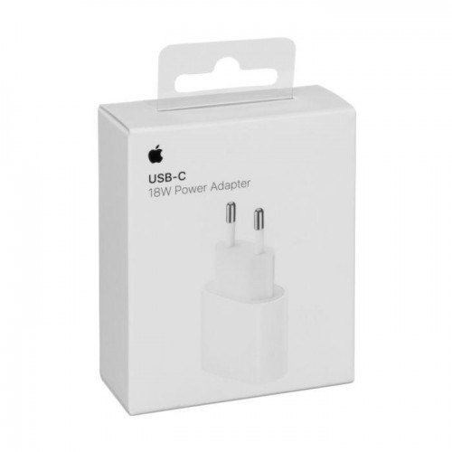 Apple 18W USB-C Power Adapter (MU7V2ZM/A)