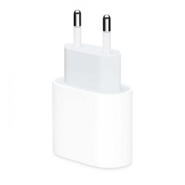 Original kućni adapter/punjač - iPhone MU7V2ZM/A USB-C 18W - bulk MU7V2ZM/A-bulk Mobilab, servis i prodaja mobitela, tableta i računala
