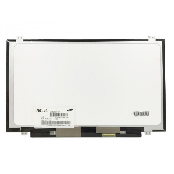 "Lcd za prijenosno računalo 14"" LED Slim panel (LTN140AT28-D) 40 pinski"