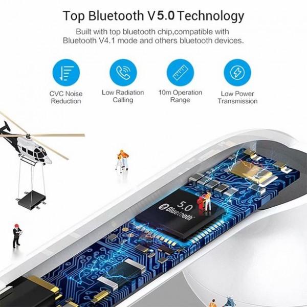 Bluetooth I9S 5.0 stereo slušalice BT-I9S-5.0 Mobilab, servis i prodaja mobitela, tableta i računala