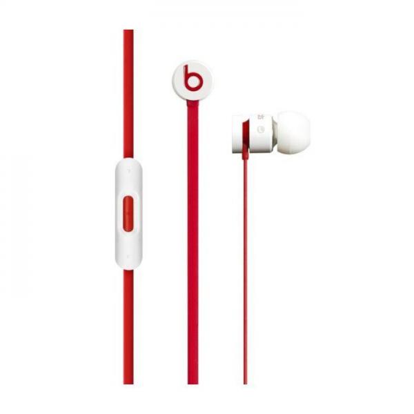 Original slušalice UrBeats 1.0 bijelo-crvene bulk
