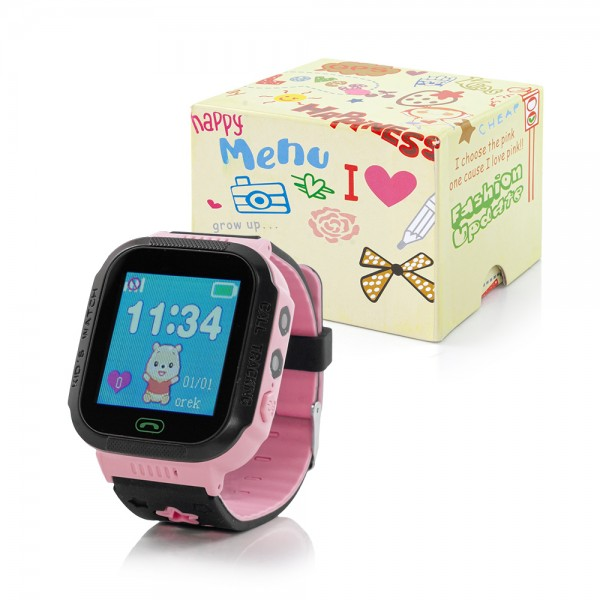 SMART WATCH ZA DJECU + GPS SIM Q5 ROZI