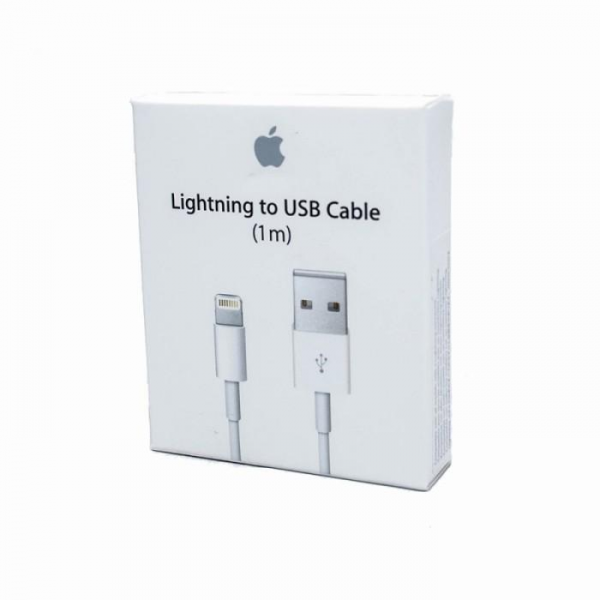 Original Kabel USB - APPLE MD818ZM/A / MQUE2ZM/A iPhone 5/5c/5s/6/iPad Air 1m