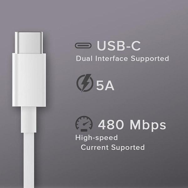 Original Kabel USB - Xiaomi Mi - USB TYPE C na USB TYPE C 1,5m 5A brzo punjenje