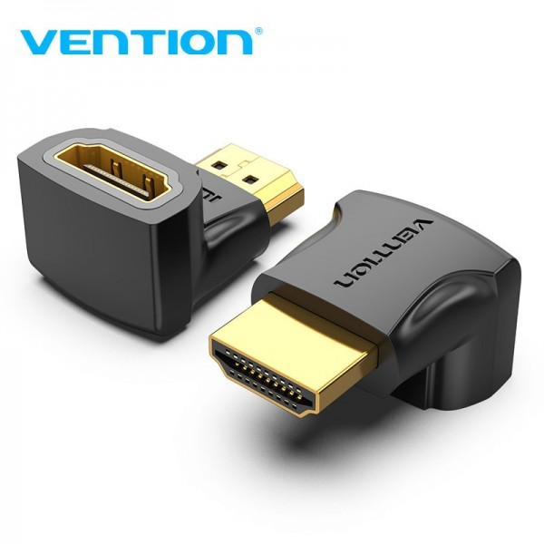 VENTION ADAPTER HDMI MUŠKI NA HDMI ŽENSKI KUTNI 90° AIOB0
