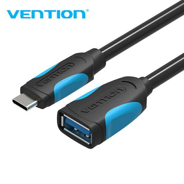 VENTION ADAPTER USB 3.0 NA TIP C OTG 0.1m VAS-A51-B010 CRNI